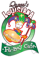 Queens Louisana Poboy Cafe Logo